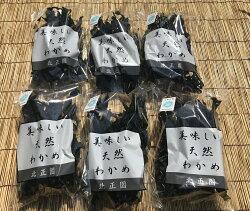 【ふるさと納税】有田の天然わかめ35g×6袋