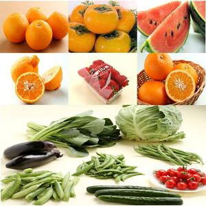 【ふるさと納税】旬の新鮮野菜・フルーツ詰め合わせ