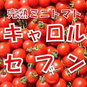 【ふるさと納税】完熟ミニトマト「キャロルセブン」