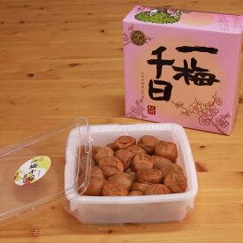 【ふるさと納税】一梅千日うす塩味梅(塩分6%)1kg