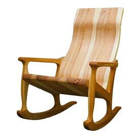 【ふるさと納税】G-02 木の椅子工房G.WORKSの「ロッキングチェア」