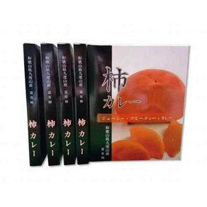 【ふるさと納税】九度山町産富有柿を使用した≪柿カレー≫