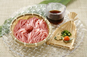 【ふるさと納税】丸ざる梅うどん 5食セット