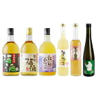 【ふるさと納税】梅酒飲み比べ6本セット