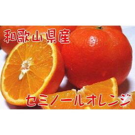 【ふるさと納税】【2022年4月発送】【春の美味】【農家直送】爽快カンキツ/セミノールオレンジ(ご家庭用)4kg
