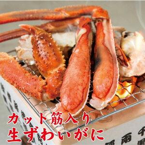 【ふるさと納税】【ご家庭用】カット筋入 生ずわいがに 約1kg ズワイガニ カニ 蟹