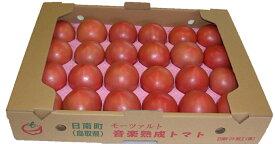【ふるさと納税】A21-81 星降る里日南町の完熟トマト 4kg【期間限定】