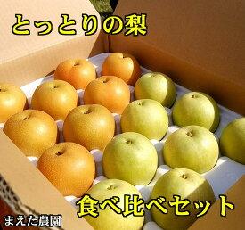 【ふるさと納税】017 「二十世紀」と「豊水」の食べ比べセット(5キロ)鳥取 梨 フルーツ 果物 ジューシー 梨 なし ナシ 送料無料