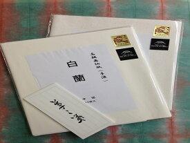【ふるさと納税】206 手すき画仙紙セット