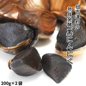 【ふるさと納税】AN02:発酵黒にんにく200g×2袋