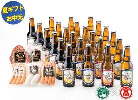 【ふるさと納税】【お中元・のし対応】55-X6-G 大山Gビール・大山ハム詰合せ(大山ブランド会)