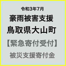 【ふるさと納税】【令和3年7月 豪雨被害支援寄付受付】鳥取県大山町災害応援寄付金(返礼品はありません)