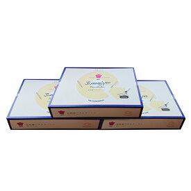 【ふるさと納税】自然薯バウムクーヘン3箱セット 【お菓子・スイーツ・焼き菓子・バームクーヘン】