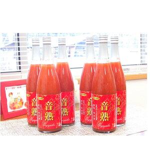 【ふるさと納税】星降る里日南町 完熟桃太郎トマトのトマトジュース6本 【果汁飲料・野菜飲料・トマトジュース・果実飲料・ジュース・飲料・ドリンク】