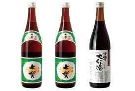 【ふるさと納税】松江料理酒セット みりん 出雲地伝酒 松江 《20010-46》
