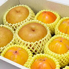 【ふるさと納税】498.【10月下旬〜11月15日お届け】梨と西条柿とドライフルーツ詰合せセット