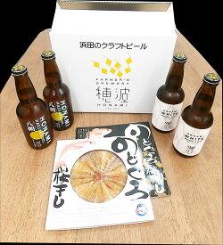 【ふるさと納税】1279.浜田のクラフトビールと「のどぐろ 桜干し」セット