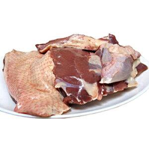 【ふるさと納税】A-435 田んぼで育ったアイガモ肉丸ごと1〜2羽(750g以上)