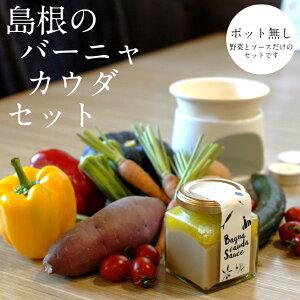 【ふるさと納税】 バーニャカウダ セット 野菜 ソースのセット(ポット無し)
