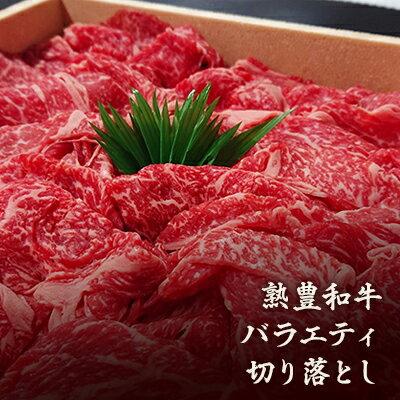 【ふるさと納税】熟豊和牛バラエティ切り落とし 【肉/牛肉/和牛】
