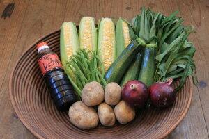 【ふるさと納税】フレッシュな旬の野菜・ 加工品セット(まるごと津和野)
