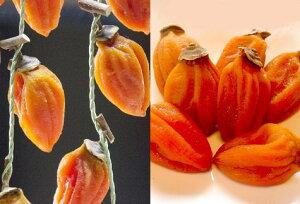 【ふるさと納税】有機JAS認証の西条柿で作った生干し柿+つるし柿セット