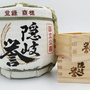 【ふるさと納税】隠岐誉 樽酒 こも樽 日本酒 鏡開き 木升 セット