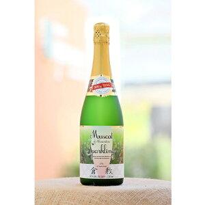 【ふるさと納税】ふなおワイナリー マスカット・オブ・アレキサンドリア【スパークリングワイン】720ml×1本 【お酒・シャンパン・スパークリングワイン・スパークリング】