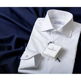 【ふるさと納税】【綿100%形態安定生地】土井縫工所 オーダードレスシャツ 3枚 【ファッション・服・男性・メンズ】