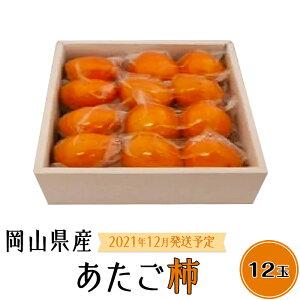 【ふるさと納税】A-09 あたご柿12玉入り箱