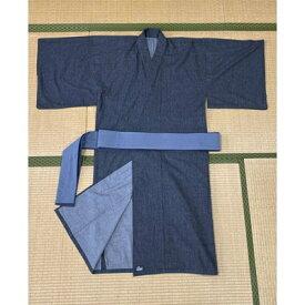 【ふるさと納税】岡山デニムで織り上げた デニム浴衣(Denimusashi ブラック)【1139103】