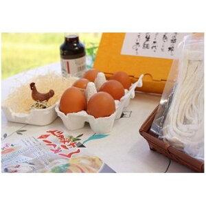 【ふるさと納税】生うどんと食べる・・・究極のたまかけうどんセット 【麺類・うどん・卵・調味料】