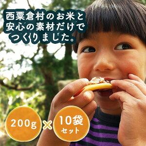 【ふるさと納税】A95 米粉でつくった 森のホットケーキミックス 10袋セット