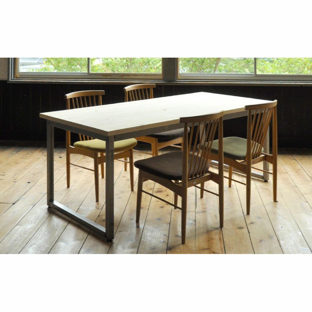 【ふるさと納税】フローリングテーブル(W180×D85×H71.5cm)