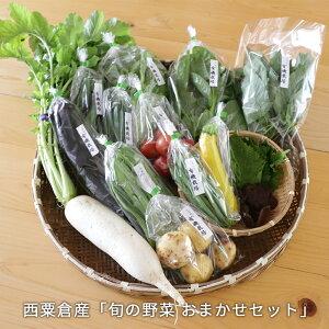 【ふるさと納税】<A80 西粟倉産「旬の野菜 おまかせセット」>