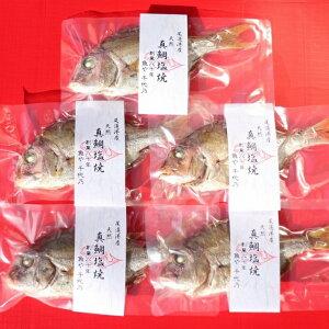 【ふるさと納税】天然真鯛の塩焼き 5尾   お祝い ギフト お食い初め 尾道市 鯛 塩焼き 真鯛