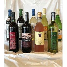 【ふるさと納税】RA601 広島三次ワイナリー3ブランドワイン9本セット【6P】