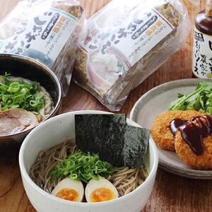 【ふるさと納税】安芸津町のじゃがいもで創ったラーメンとコロッケ専用ソース 【麺類・パスタ】