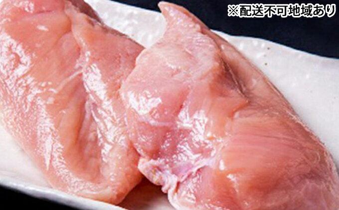【ふるさと納税】★ぶち盛り★広島熟成どり むね肉 8kg(冷蔵) 【肉/鶏肉/ムネ】
