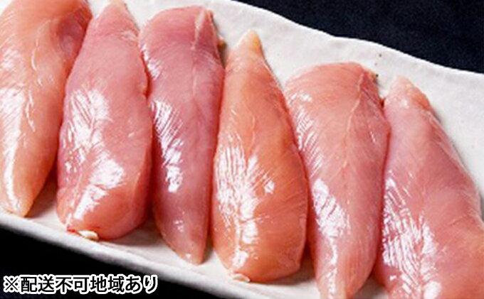 【ふるさと納税】★大盛り★広島熟成どり ささみ 6kg(冷蔵) 【肉/鶏肉/ササミ・とり肉・にく】