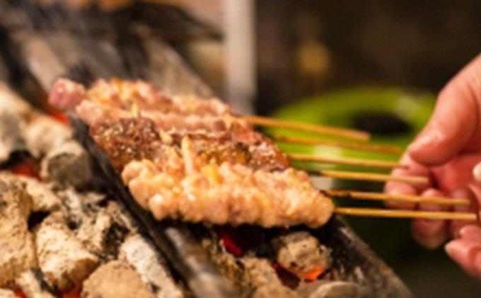 【ふるさと納税】広島熟成どり 広島県産もも串 50本(生肉冷凍) 【肉/鶏肉/焼き鳥】