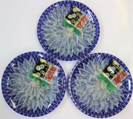 H1-171【ふるさと納税】萩の真ふぐ刺身(3皿)