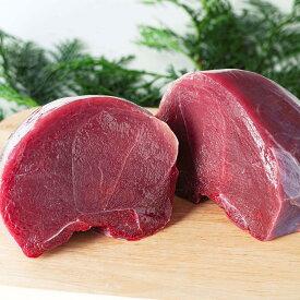 【ふるさと納税】鹿肉 もも肉(ブロック肉)(1166)