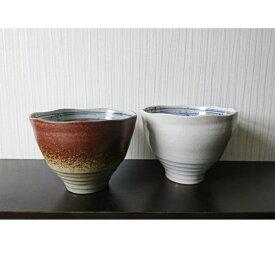 【ふるさと納税】E014a 大谷焼 幻の渦潮麺鉢セット