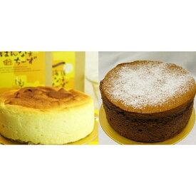 【ふるさと納税】010-056 半生チーズケーキ&スフレショコラ