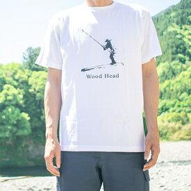 【ふるさと納税】Wood HeadオリジナルロゴTシャツ 【ファッション・女性・レディース・服・男性・メンズ】 お届け:入金確認後、約1ヶ月程度でお届け