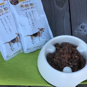 【ふるさと納税】WNW23 産地直送!わんちゃんへ「犬日和 レトルト エゾ鹿肉と野菜」