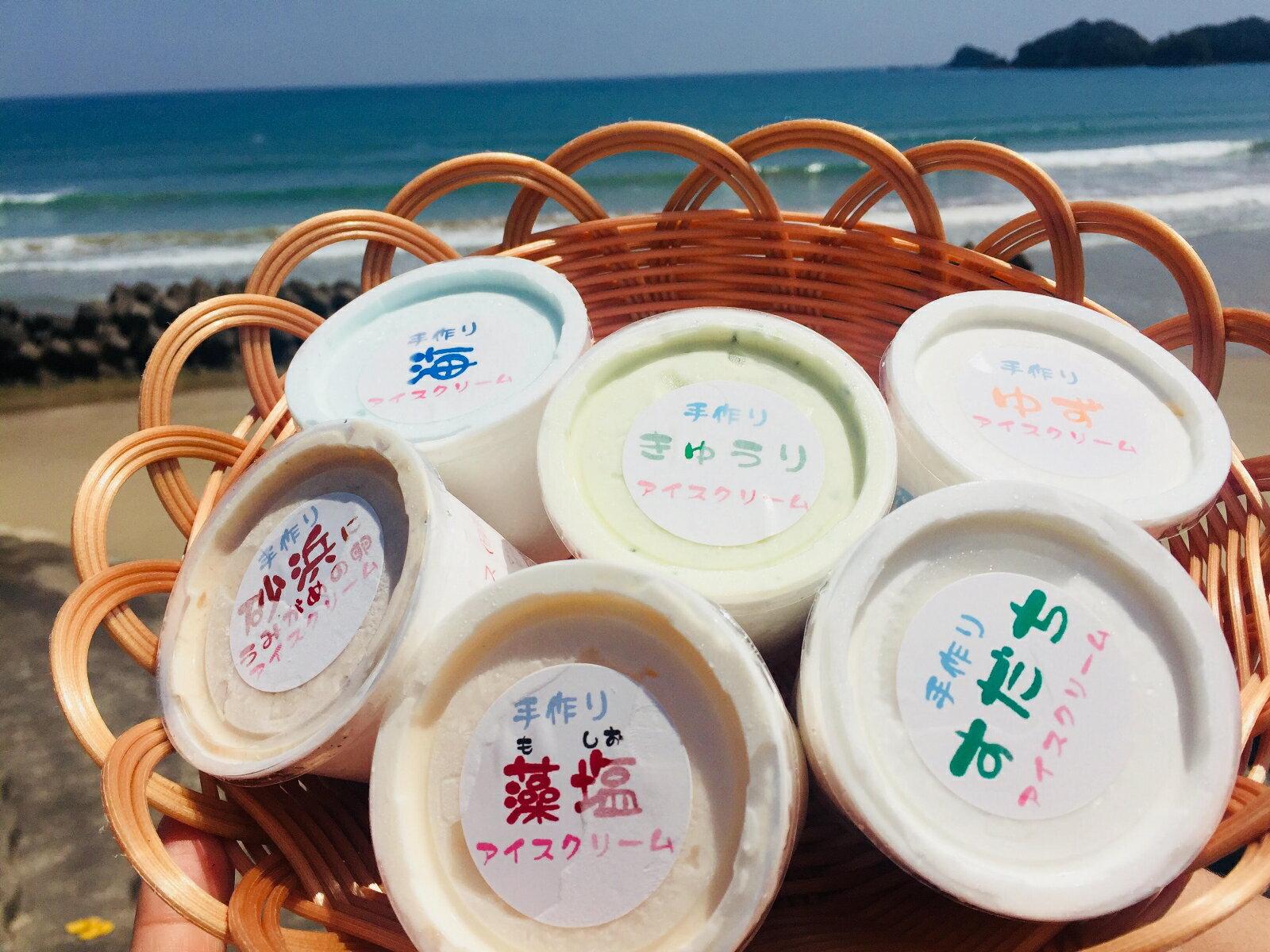 【ふるさと納税】SGN09 海陽町特製アイス ユニークな味6種類セット!