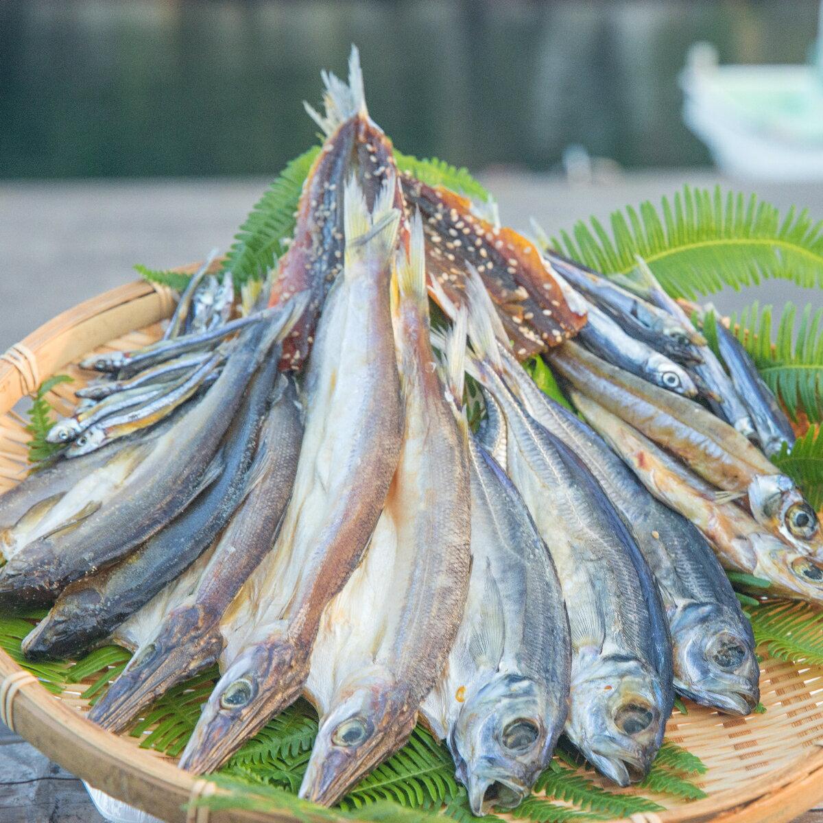 【ふるさと納税】NSM03 海陽町産のお魚を使った絶品干物 鮎や太刀魚など7種類セット!