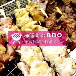 【ふるさと納税】MAS03 肉BBQセット2(阿波ジビエ・阿波尾鶏)3〜5名様向け